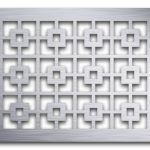AAG702 Perforated Metal Grilles in Aluminum