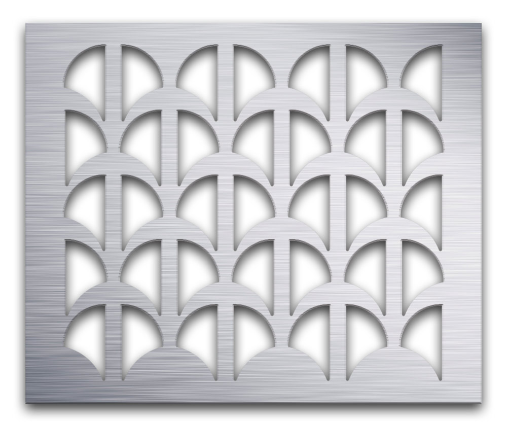 AAG707 Perforated Metal Grilles in Aluminum