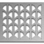 AAG707 Perforated Metal Grilles in Stainless Steel & Steel
