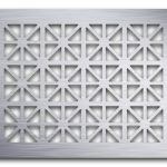 AAG709 Perforated Metal Grilles in Aluminum