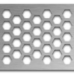 AAG711 Perforated Metal Grilles in Stainless Steel & Steel