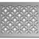 AAG712 Perforated Metal Grilles in Stainless Steel & Steel