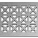 AAG713 Perforated Metal Grilles in Stainless Steel & Steel