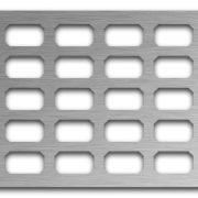 AAG718 Perforated Metal Grilles in Stainless Steel & Steel