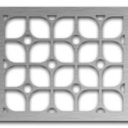 AAG722 Perforated Metal Grilles in Stainless Steel & Steel