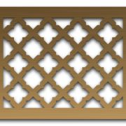 AAG724 Perforated Metal Grilles in Bronze & Brass