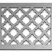 AAG724 Perforated Metal Grilles in Stainless Steel & Steel