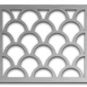 AAG725 Perforated Metal Grilles in Stainless Steel & Steel