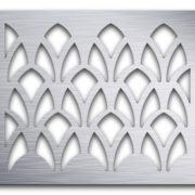 AAG727 Perforated Metal Grilles in Aluminum