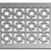 AAG729 Perforated Metal Grilles in Stainless Steel & Steel