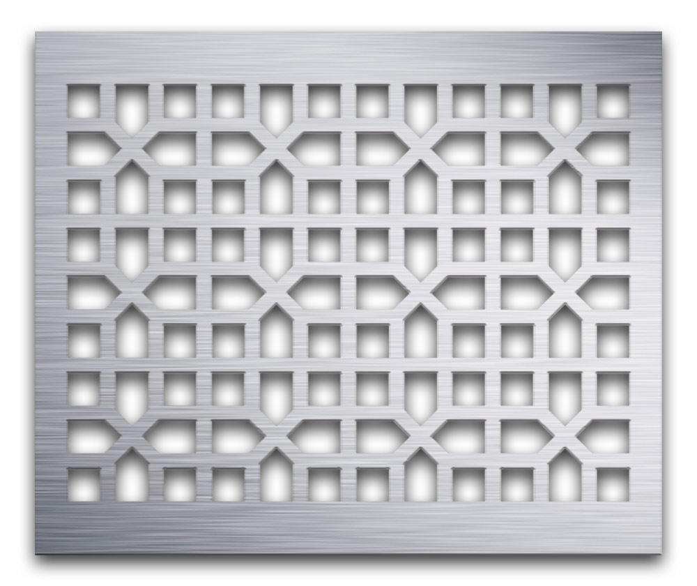 AAG731 Perforated Metal Grilles in Aluminum