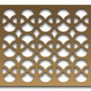 AAG732 Perforated Metal Grilles in Bronze & Brass