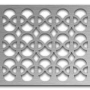AAG732 Perforated Metal Grilles in Stainless Steel & Steel