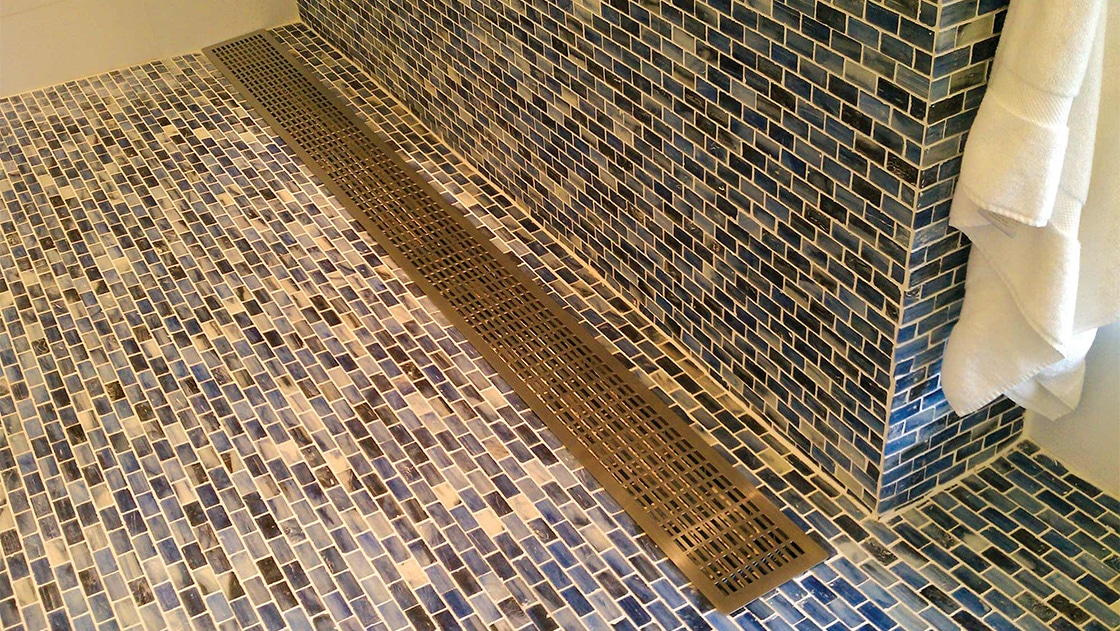 aag704 Perforated Grille Shower Floor